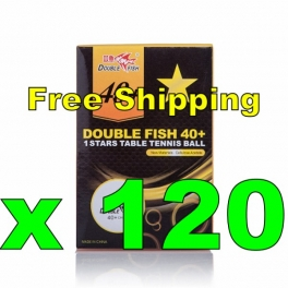 Double Fish New Cellulose Acetate Material 40+ 1 Stars Ball x 120