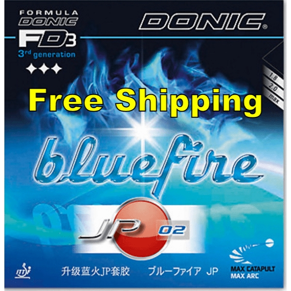 Donic Bluefire Jp 02 Blue Fire Table Tennis And Ping Pong