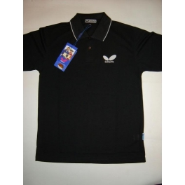 Butterfly 218 Black Polo Shirt