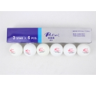 Palio New Seamless Poly Ball - ITTF 6 pcs